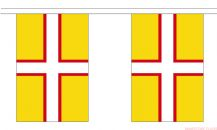 DORSET (NEW DESIGN) BUNTING - 9 METRES 30 FLAGS